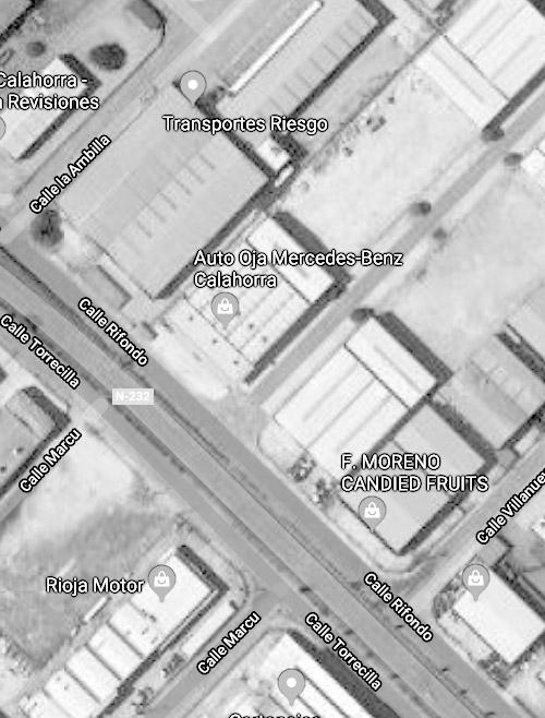 Carrocerías Vantage Mapa